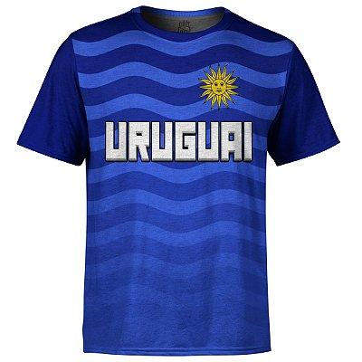 Camiseta Masculina Uruguai Md01