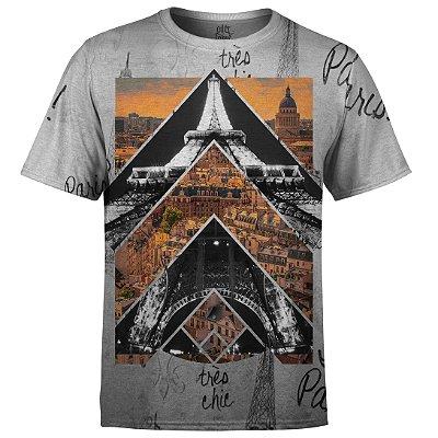 Camiseta Masculina Paris Md01