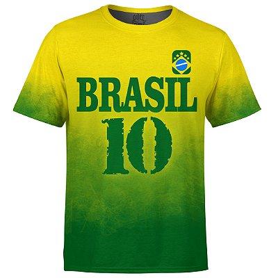 Camiseta Masculina Brasil Md04