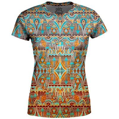 Camiseta Baby Look Étnica Tribal Md04
