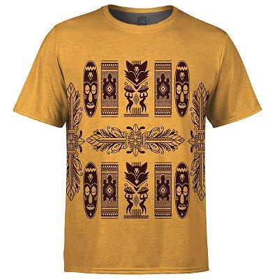 Camiseta Masculina Étnica Tribal Africana Md08