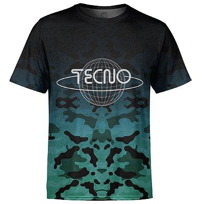 Camiseta Masculina Camuflada Tecno Md05
