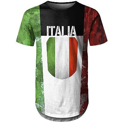 Camiseta Masculina Longline Itália md01