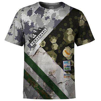 Camiseta Masculina Camuflada Mista Md02