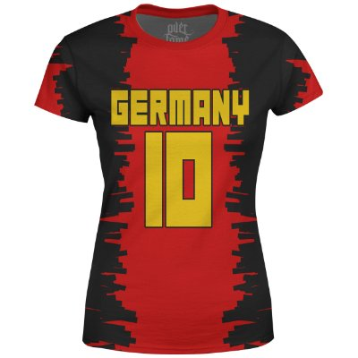 Camiseta Baby Look Feminina Alemanha Germany md01