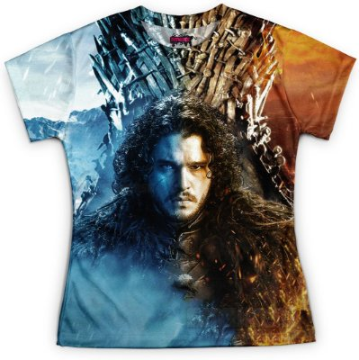 Camiseta Baby Look Feminina Game of Thrones GOT Md13