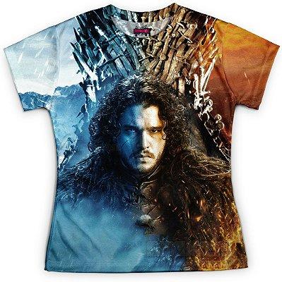 Camiseta Baby Look Feminina Game of Thrones GOT Md13