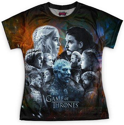 Camiseta Baby Look Feminina Game of Thrones GOT Md14