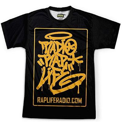 Camiseta Masculina Rap Life md04