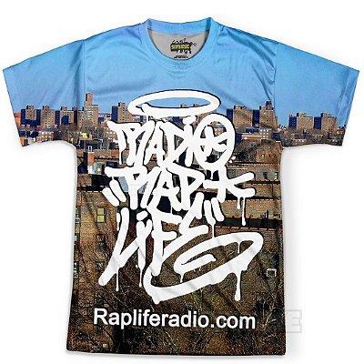 Camiseta Masculina Rap Life md05