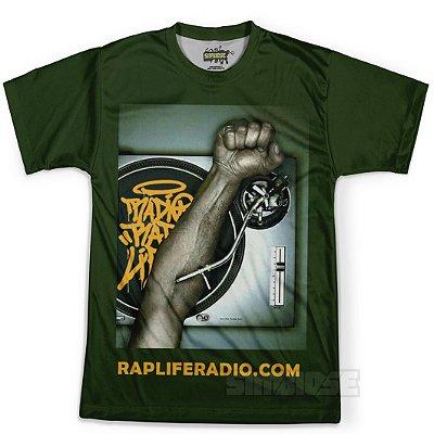 Camiseta Masculina Rap Life md03