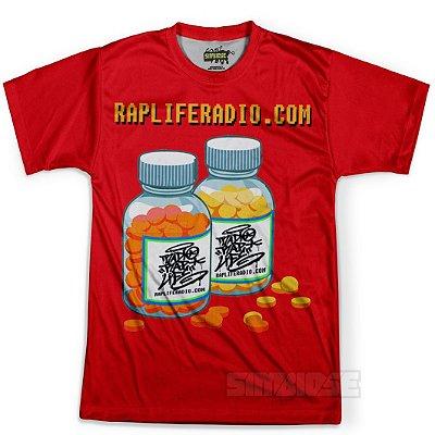 Camiseta Masculina Rap Life md02