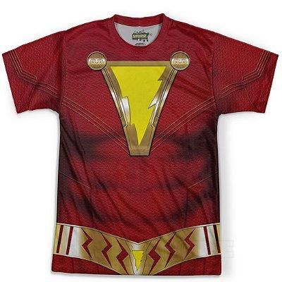 Camiseta Masculina Traje Shazam Md01