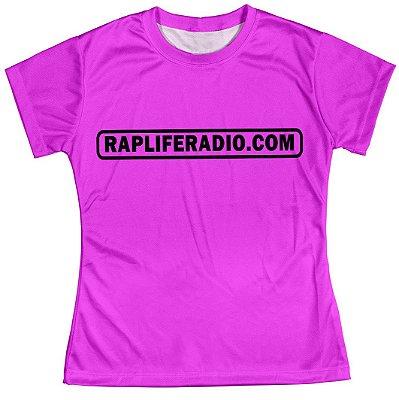 Camiseta Baby Look Feminina Rap Life md12