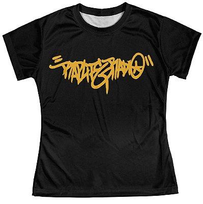 Camiseta Baby Look Feminina Rap Life md11