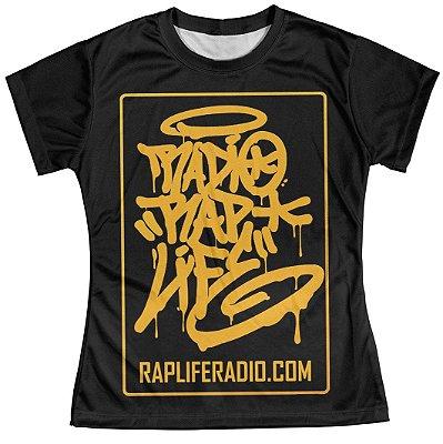 Camiseta Baby Look Feminina Rap Life md04