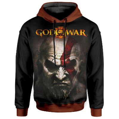 Moletom Com Capuz Unissex God of War Md3