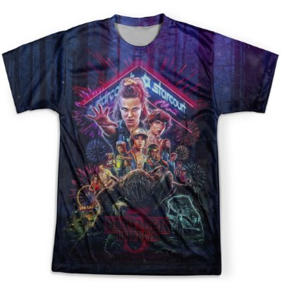 Camiseta Masculina Stranger Things MD04