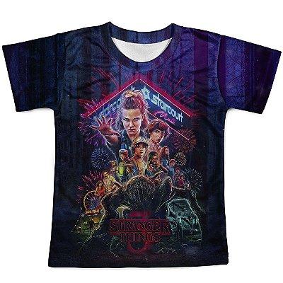 Camiseta Infantil Stranger Things MD04