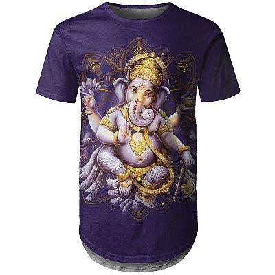 Camiseta Masculina Longline Hindu Md01