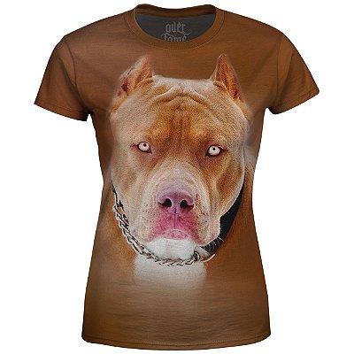 Camiseta Baby Look Feminina Pitbull md02