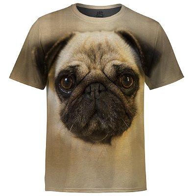 Camiseta Masculina Pug md01