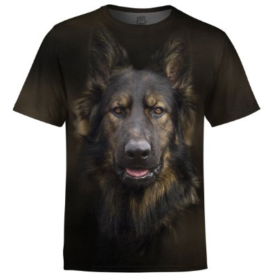 Camiseta Masculina Pastor Alemão md01