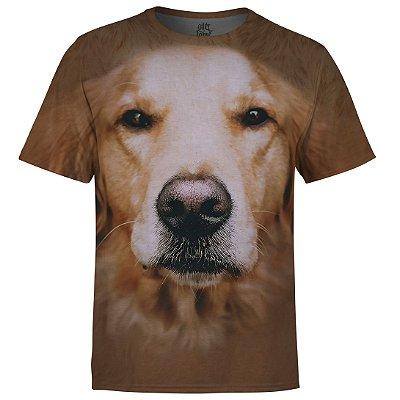 Camiseta Masculina Golden Retriver md01