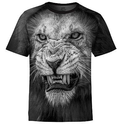 Camiseta Masculina Leão md03
