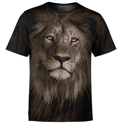 Camiseta Masculina Leão md01