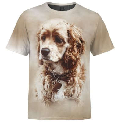 Camiseta Masculina Cocker Spaniel md01