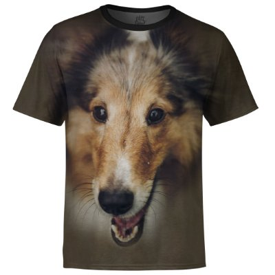 Camiseta Masculina Collie md01