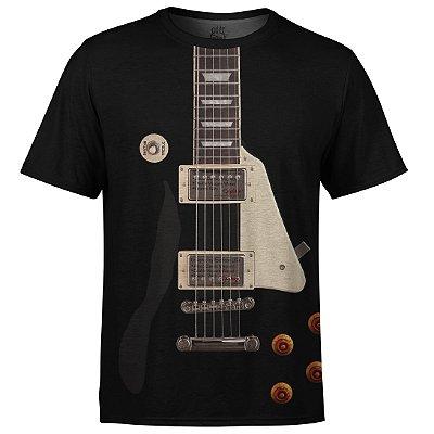 Camiseta Masculina Guitarra Les Paul md01