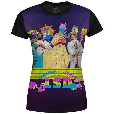 Camiseta Baby Look Feminina Sia LSD md02