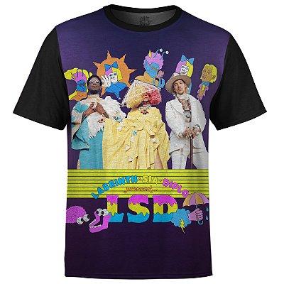 Camiseta Masculina Sia LSD md02