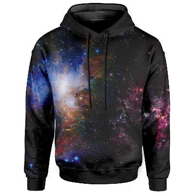 Moletom Com Capuz Unissex Galáxia
