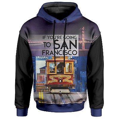 Moletom Com Capuz Unissex San Francisco md01