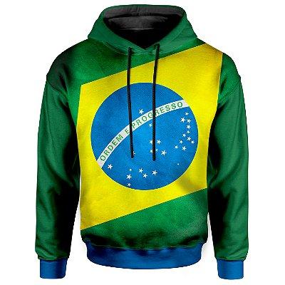 Moletom Com Capuz Unissex Brasil md03