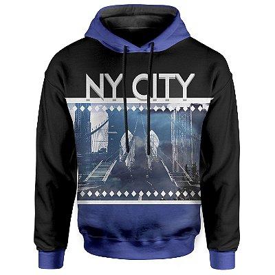 Moletom Com Capuz Unissex New York NY Md02