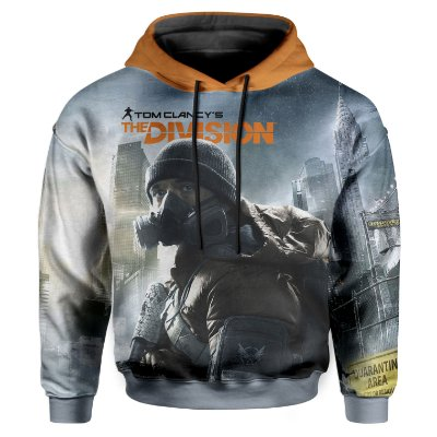 Moletom Infantil Com Capuz Unissex The Division Md01