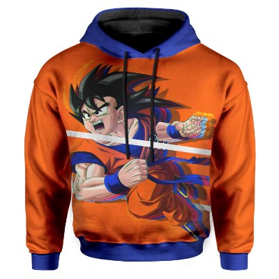 Moletom Infantil Com Capuz Dragon Ball MD06