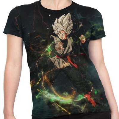 Baby Look Feminina Goku Dragon Ball Super Md09 - OUTLET