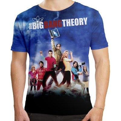 Camiseta Masculina The Big Bang Theory - OUTLET
