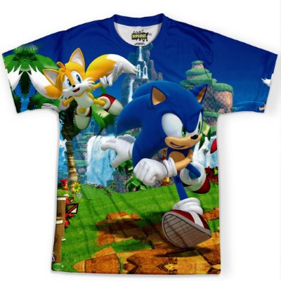 Camiseta Masculina Sonic - OUTLET