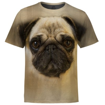 Camiseta Masculina Pug md01 - OUTLET