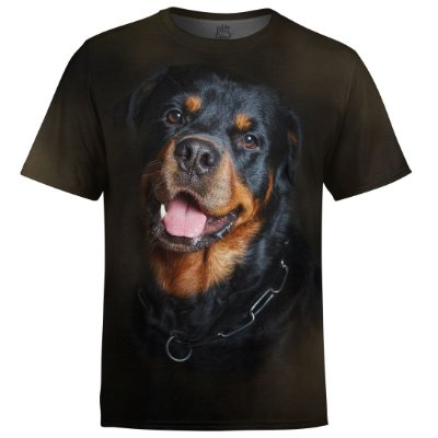 Camiseta Masculina Rottweiler md02 - OUTLET