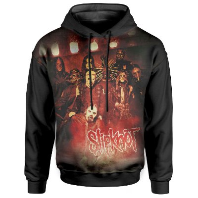 Moletom Com Capuz Unissex Slipknot md01