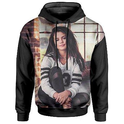 Moletom Com Capuz Unissex Selena Gomez md02