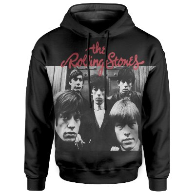 Moletom Com Capuz Unissex The Rolling Stones md03