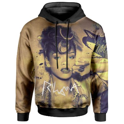 Moletom Com Capuz Unissex Rihanna md02